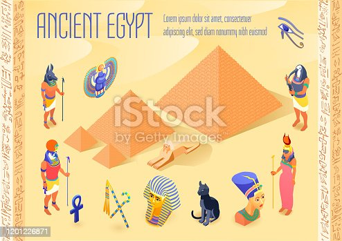 istock isometric egypt 1201226871