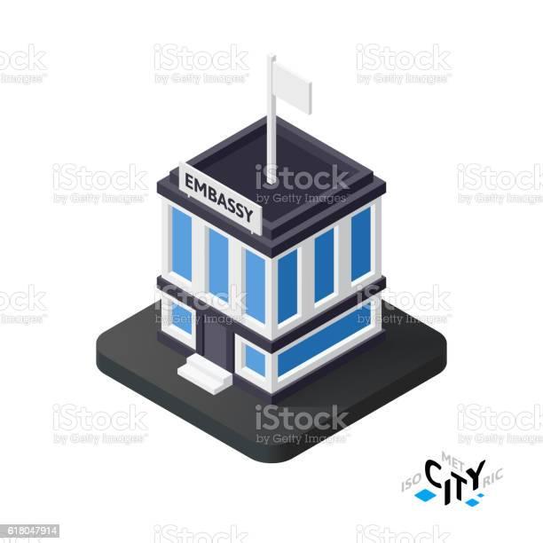 Isometric embassy icon building city infographic element vector vector id618047914?b=1&k=6&m=618047914&s=612x612&h=aiplrezsdqxoyher8qpsdco8tjdlaa2yjy2snfxxrpm=
