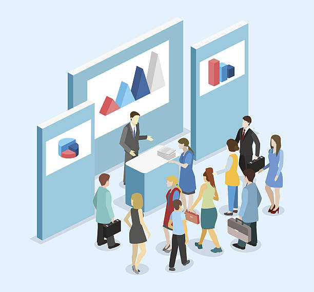 Exhibition Stand Design Illustrator : Royalty free exhibition clip art vector images