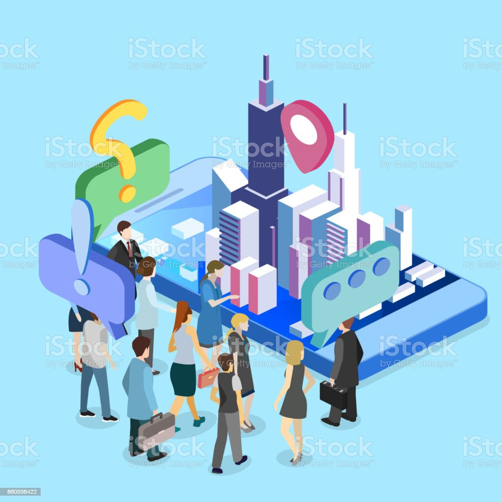 Isometric Flat 3d Exhibition Promotion Stand Trade Show Booth Stock Illustration Download Image Now Istock