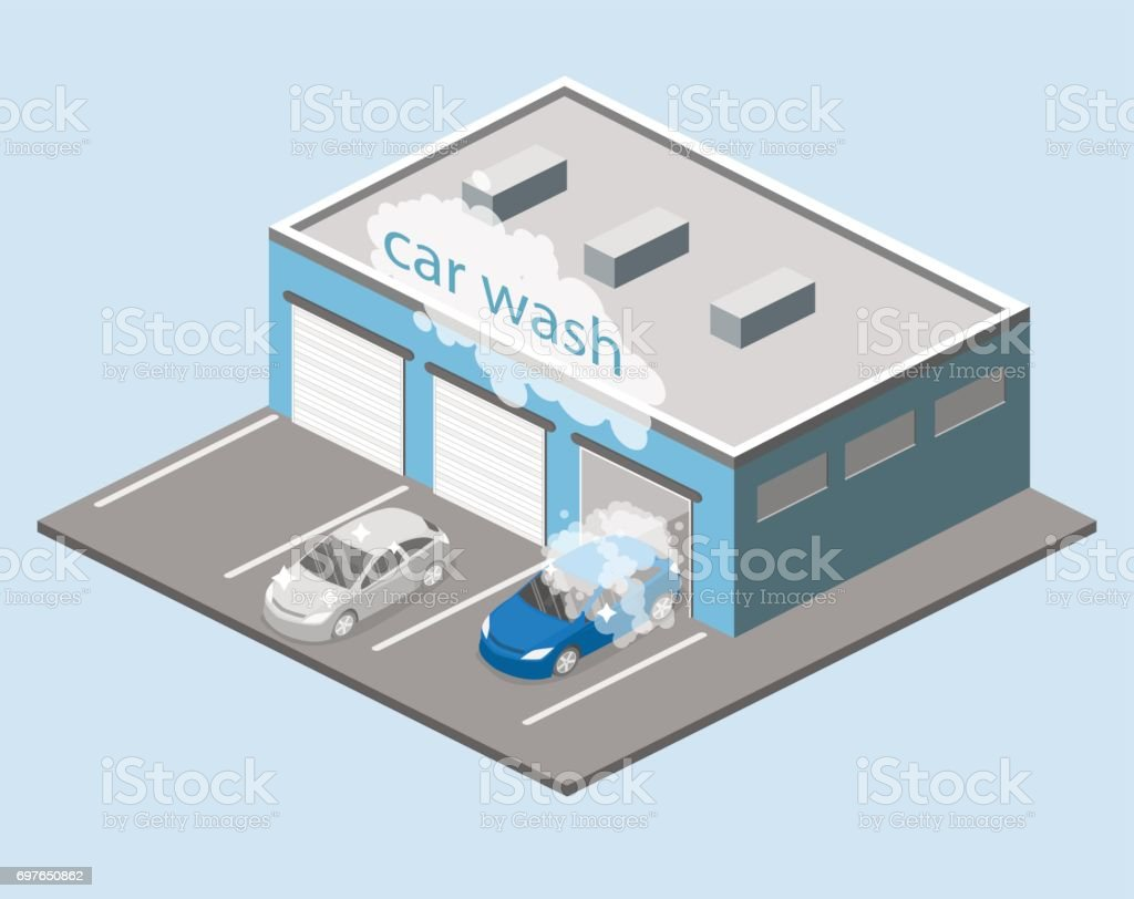 Building Car Repair Diagram Wiring Flat Engine Diagrams Isometric 3d Isolated Service Or Stock Rh Istockphoto Com Do Yourself Manual