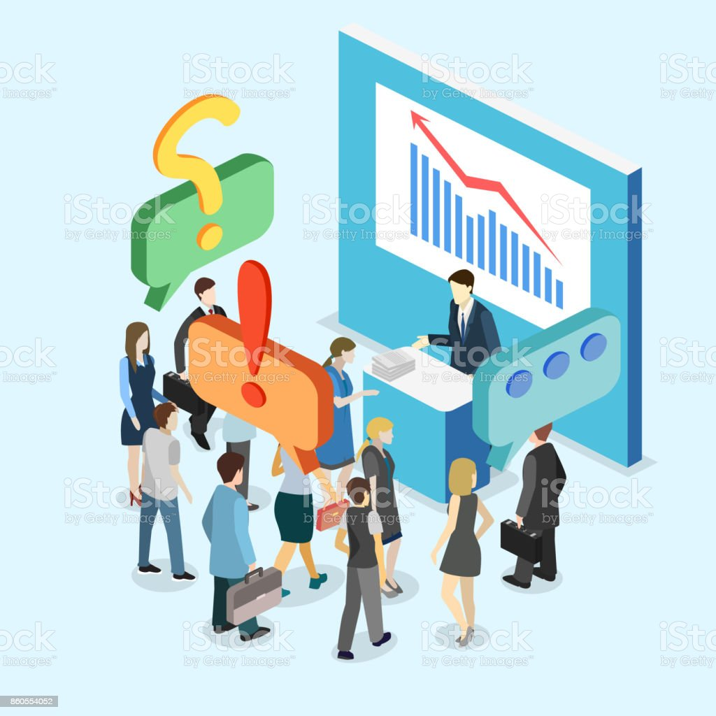 Exhibition Stand Vector Free Download : Isometric flat d vector exhibition promotion stand trade