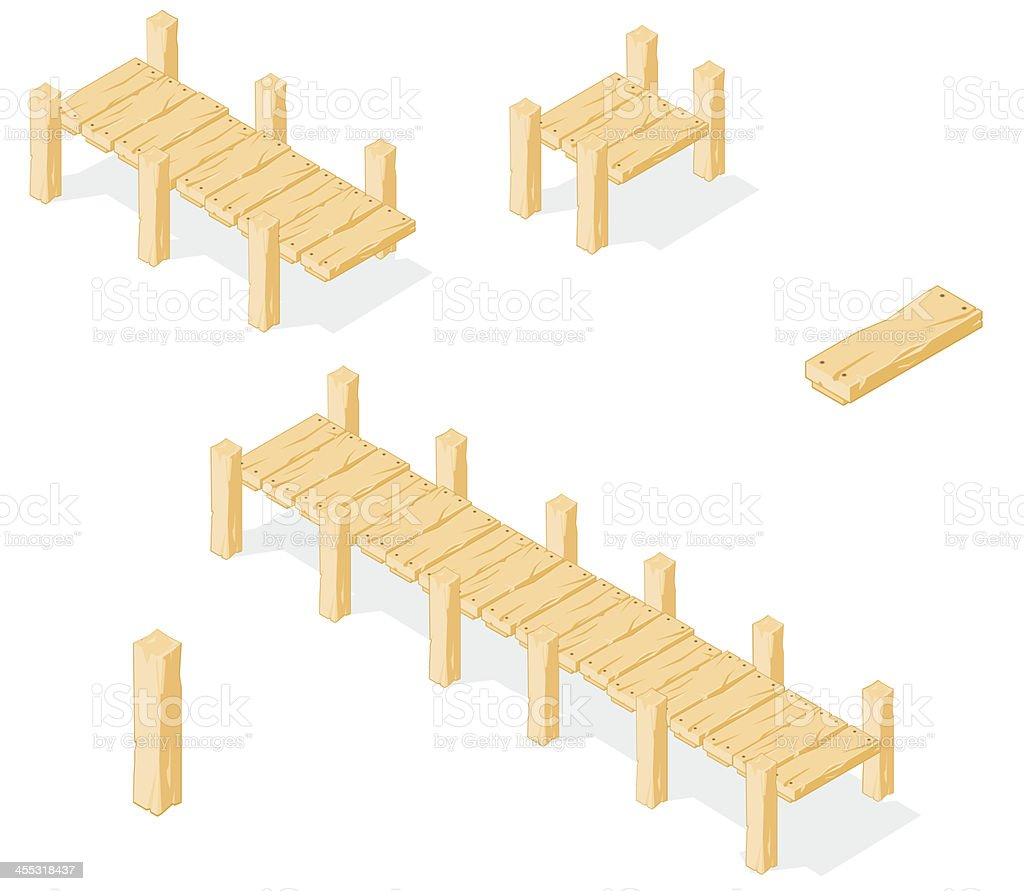 Isometric Footbridge.