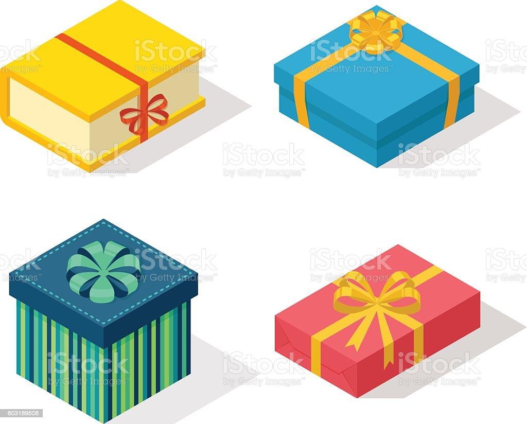 isometric gift box vector icon isolated stock vector art more rh istockphoto com box vector files box vector free