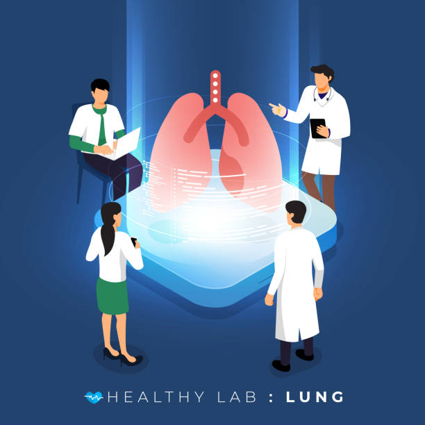 ilustrações de stock, clip art, desenhos animados e ícones de isometric healthy labs concept - diálise