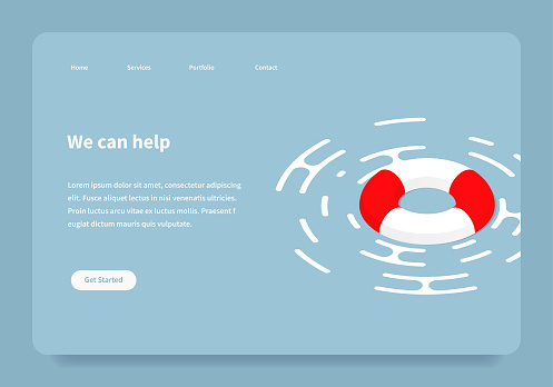Isometric Help Landing Page