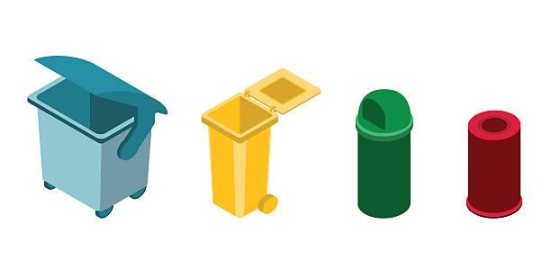 ilustrações de stock, clip art, desenhos animados e ícones de minibarra de ferramentas ícones de reciclagem tópico - box separate life