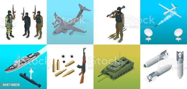 Isometric icons submarine aircraft soldiers set of military equipment vector id948746626?b=1&k=6&m=948746626&s=612x612&h=ox9j yeunlpt8qn kksfvrg10yfb3gqnxturboioome=