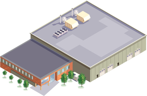 Isometric Manufacturing Plant