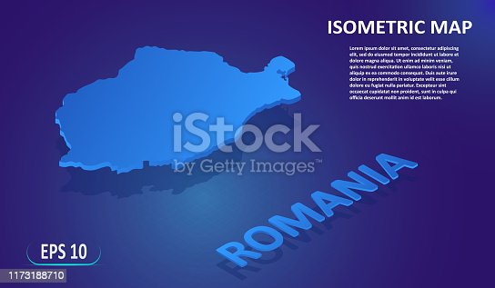 Romania 3d Map Vector Free vector file for free   Download now!