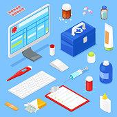 isometric medical equipment
