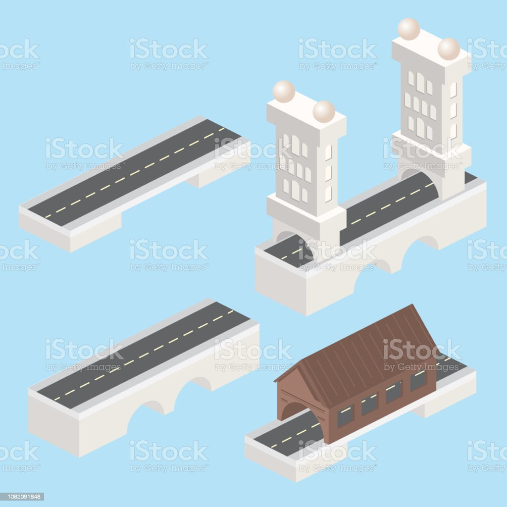 Isometric Modular Bridge Set