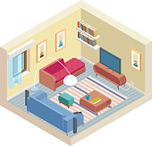Vector isometric room
