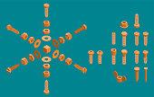 isometric screws