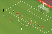 Isometric Soccer FreeKick