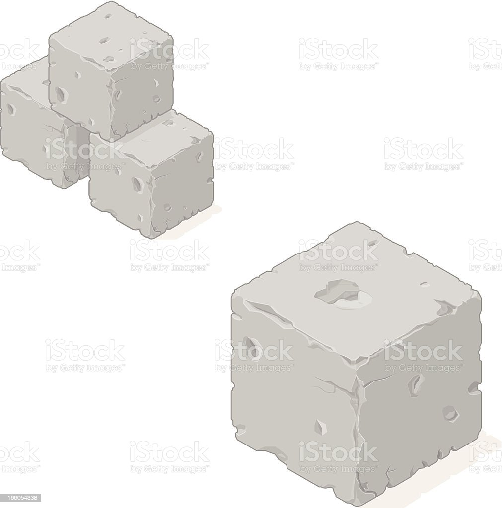 Isometric Sone Building Blocks royalty-free isometric sone building blocks stock vector art & more images of arrangement