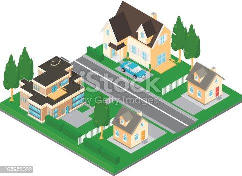 istock Isometric Street 165958022