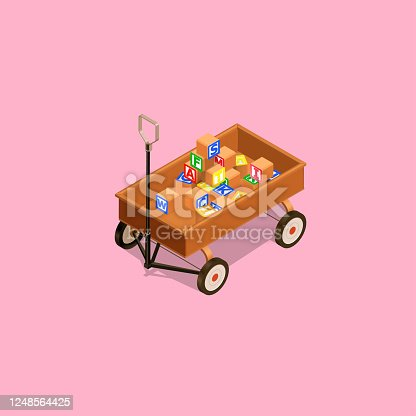 High detailed isometric view .