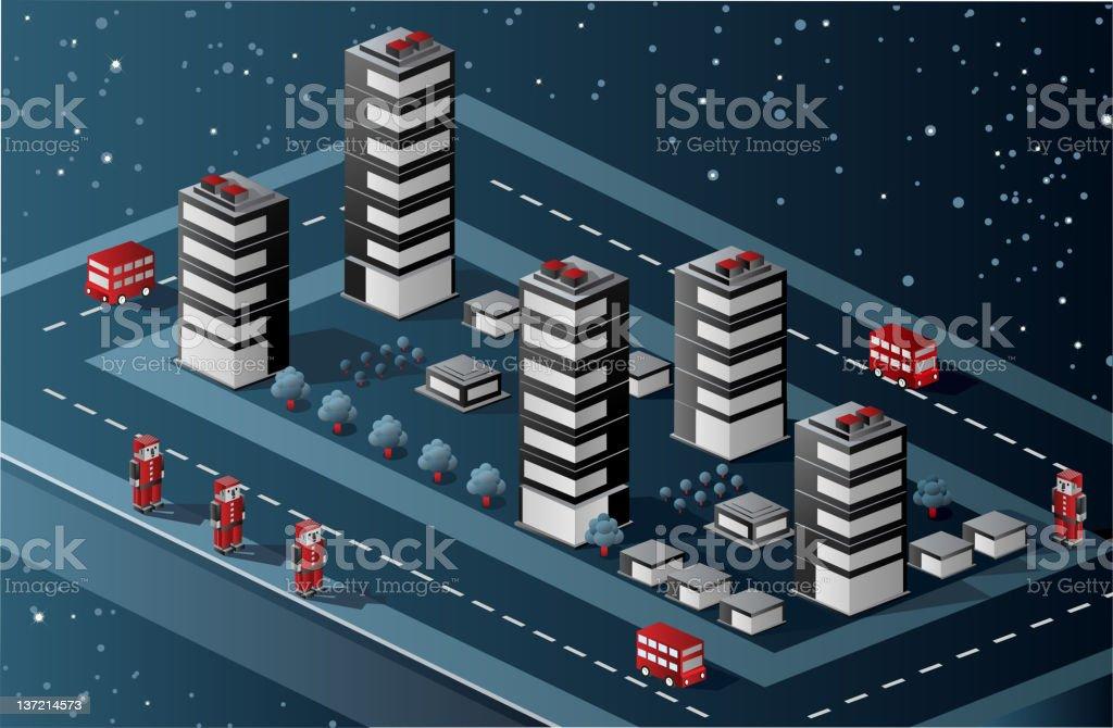Isometric  vector royalty-free stock vector art