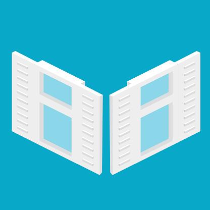 Isometric Vector Windows
