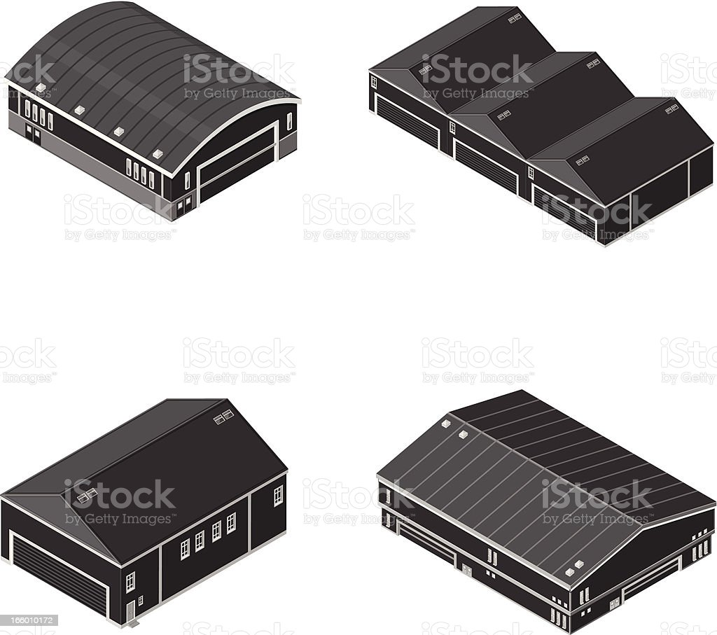 Isometric warehouse and manufacturing factory royalty-free isometric warehouse and manufacturing factory stock vector art & more images of agricultural building