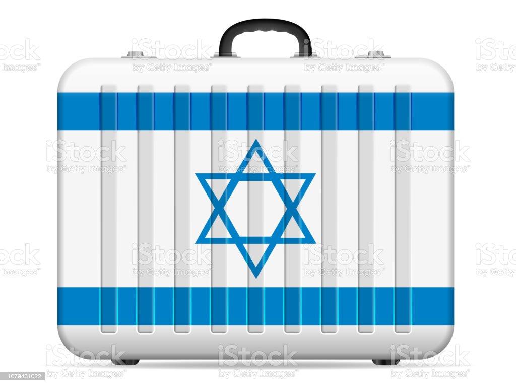 c61cd0fa2 Bandera de Israel de viaje maleta ilustración de bandera de israel de viaje  maleta y más