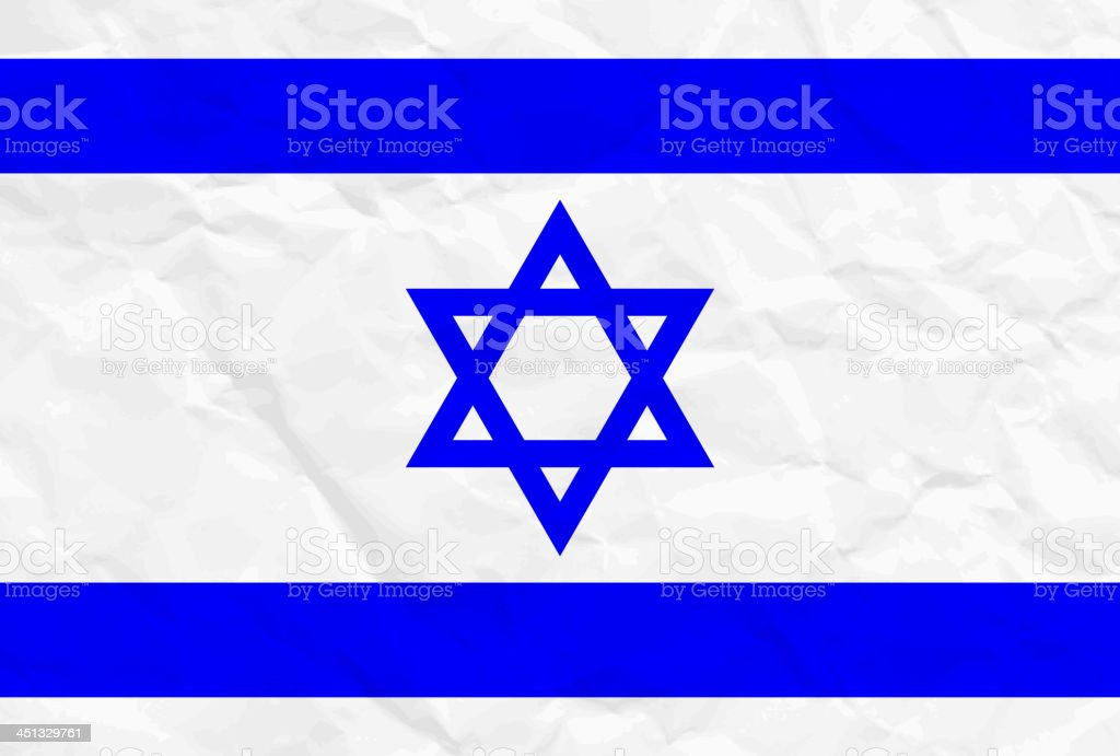 israel flag royalty-free stock vector art