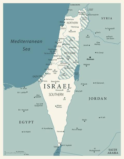 ilustrações, clipart, desenhos animados e ícones de 24 - israel - vintage murena isolado 10 - israel