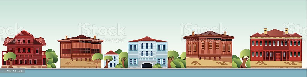 Istanbul Bosphorus mansions royalty-free istanbul bosphorus mansions stock vector art & more images of architecture