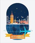 Istanbul City Night