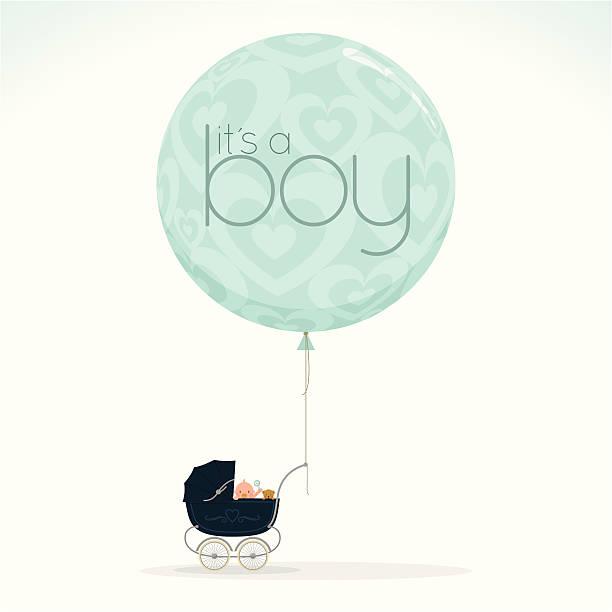 これは、少年 myillo - ベビーシャワー点のイラスト素材/クリップアート素材/マンガ素材/アイコン素材