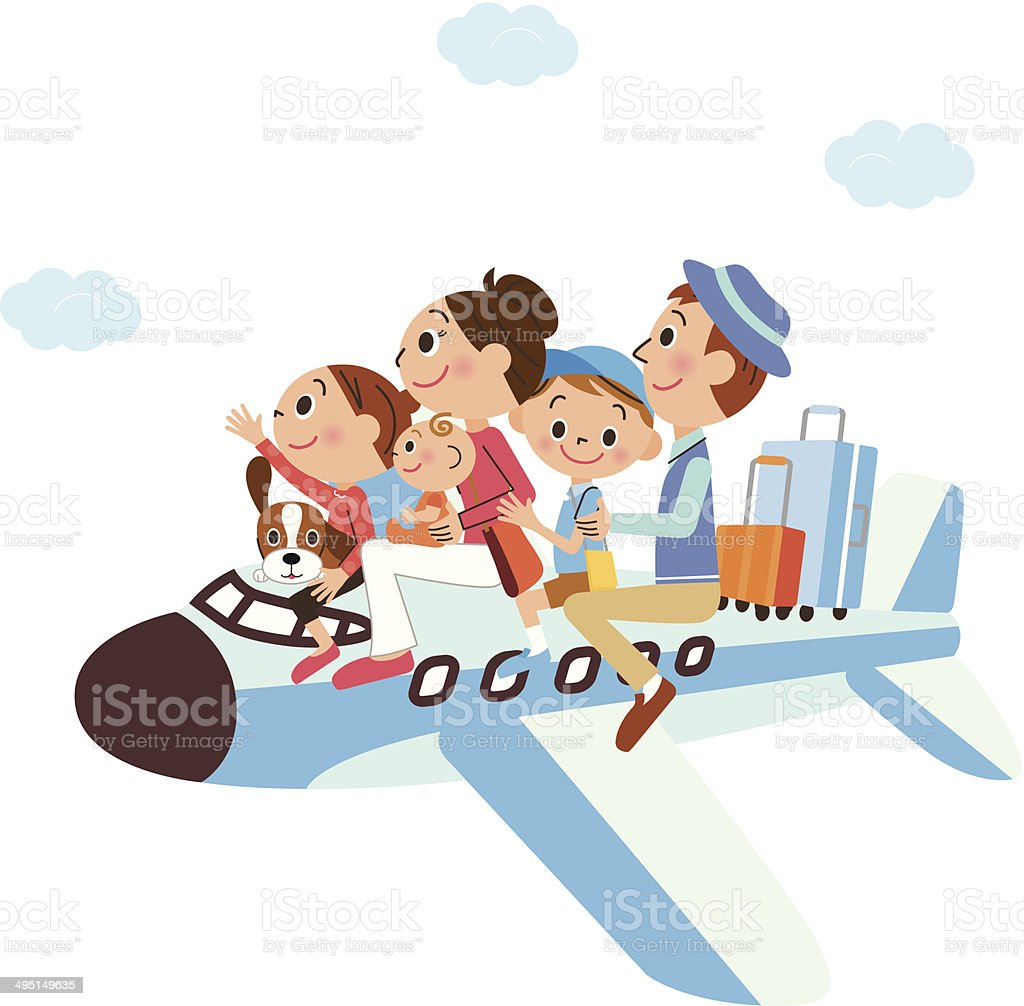 It is a family vacation on, airplane royalty-free it is a family vacation on airplane stock vector art & more images of airplane