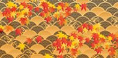It is an illustration of autumnal leaves