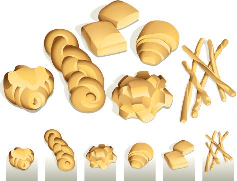 Italian Bread Shapes