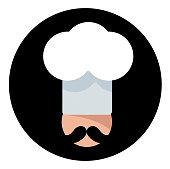 Vector  Italian cook