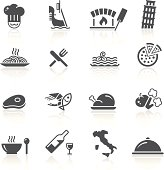 Black icon set for your web or printing projects.