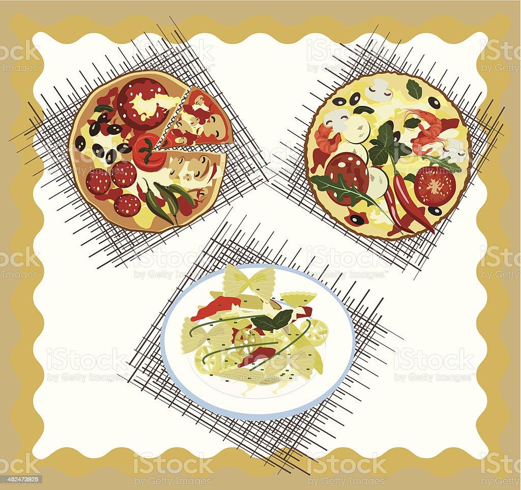 イタリア料理 おかず系のベクターアート素材や画像を多数ご用意 Istock