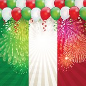 "This illustration is a background of the text for ""Italian holiday""."