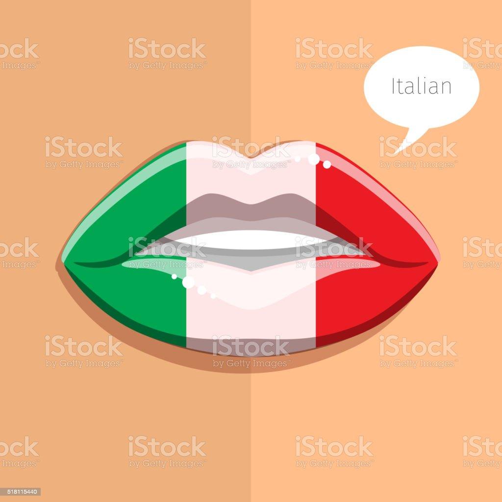1e9564730511fd Język włoski koncepcja język włoski koncepcja - stockowe grafiki wektorowe  i więcej obrazów abstrakcja royalty-