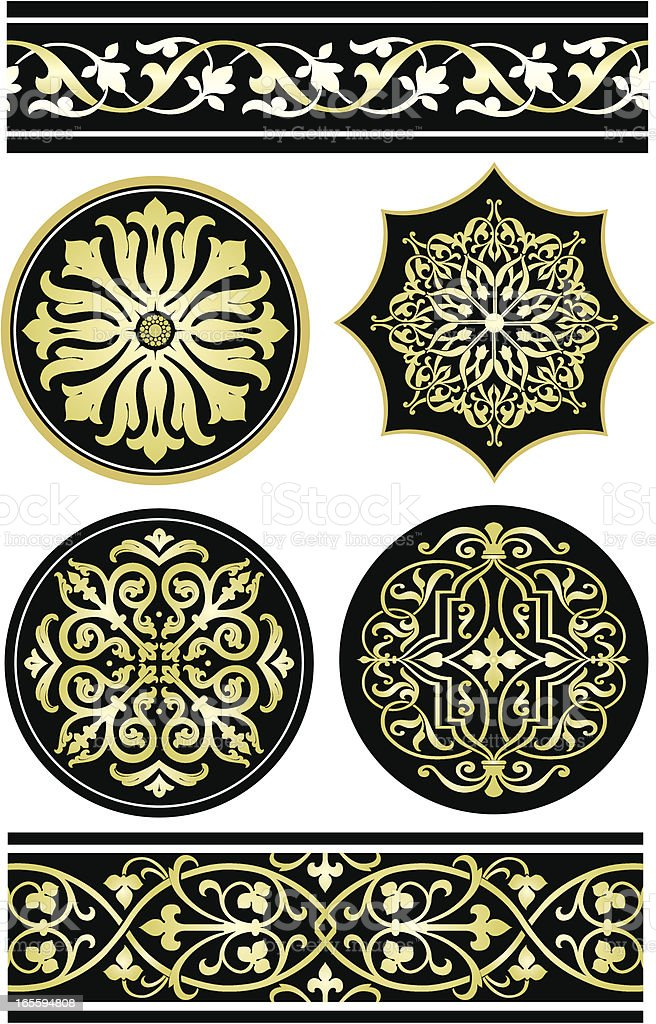 Italian Ornamental pattern royalty-free italian ornamental pattern stock vector art & more images of antique
