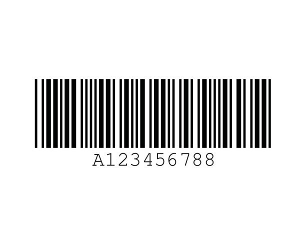 Italian Pharmacode Code32 Barcode Standards vector art illustration