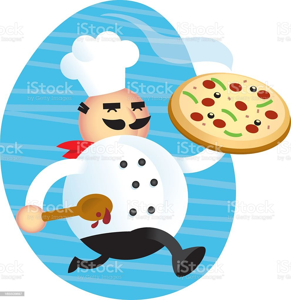 Italian Pizza Chef Stock Illustration Download Image Now Istock