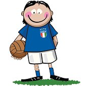 Italian Soccer Boy