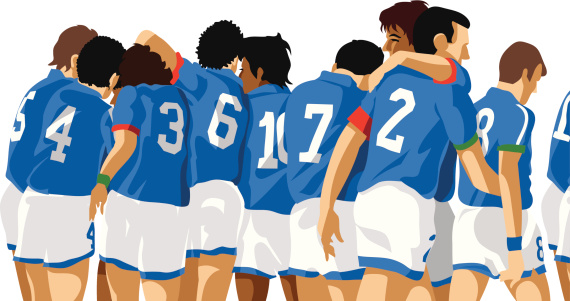 Italian soccer players