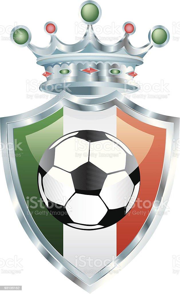 italian soccer royalty-free stock vector art
