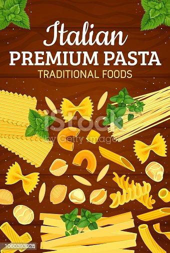istock Italian traditional premium pasta cuisine 1060393028