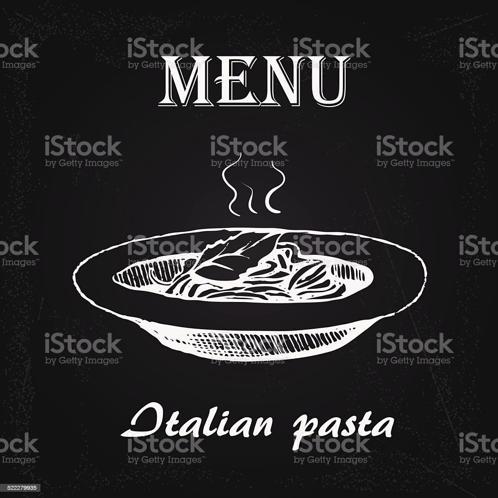 Bene pâtes 2 - Illustration vectorielle