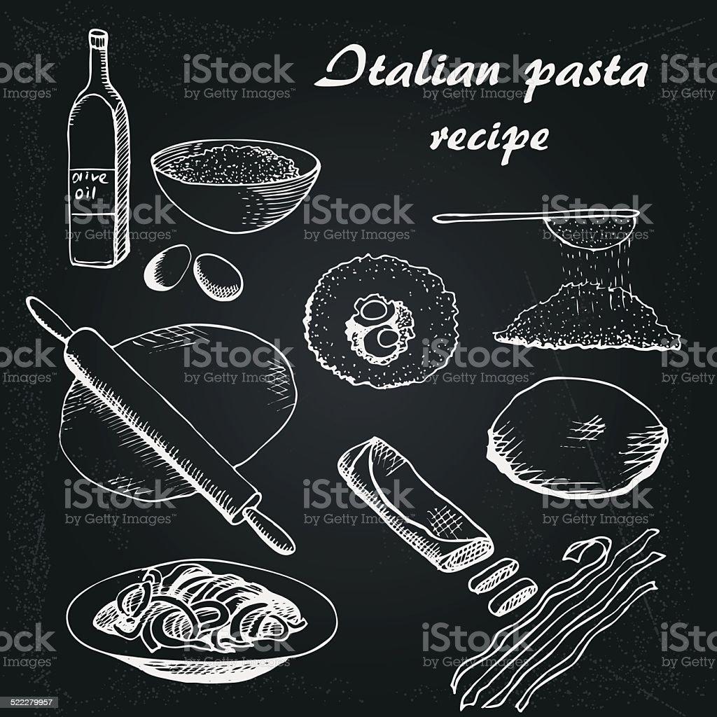 Bene pâtes 6 - Illustration vectorielle