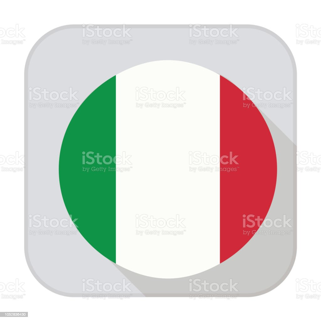 Italy Flag App Stock Illustration - Download Image Now - iStock