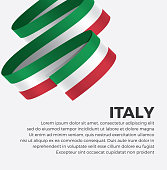 Italy, flag, country, culture, background, vector